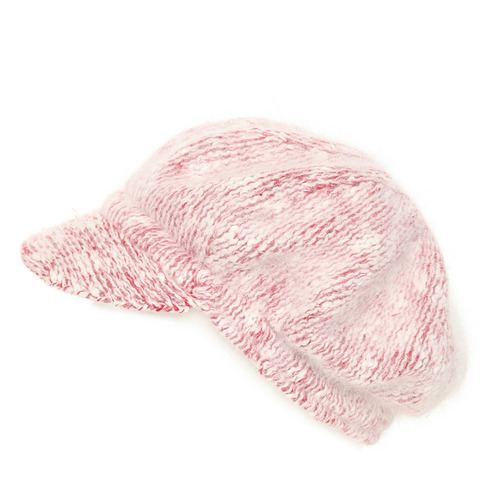 hot topic gorro rojo y blanco afelpado beanie boina