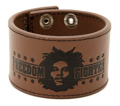 hot topic hot topic muñequera bob marley freedom fighter bro