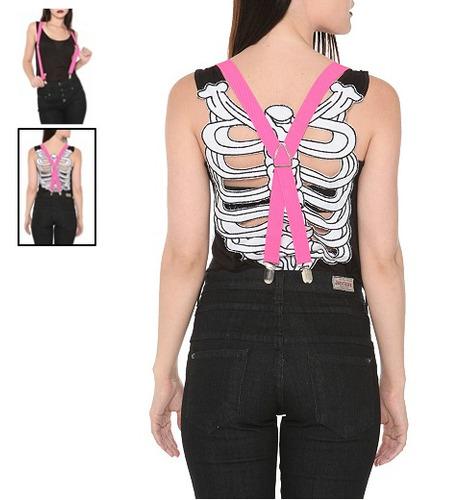 hot topic tirantes purple suspenders