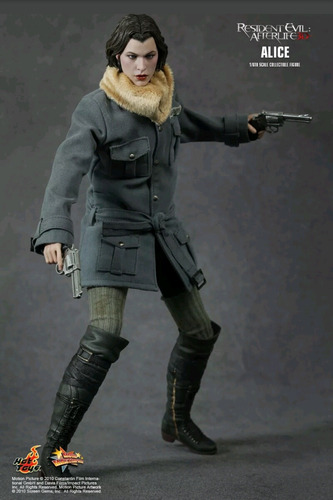 hot toys alice resident evil milla jovovich esc 1/6