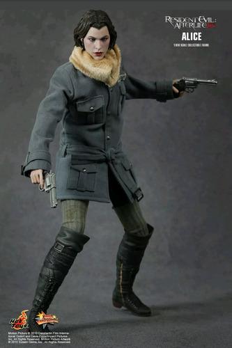 hot toys alice resident evil milla jovovich escala 1/6