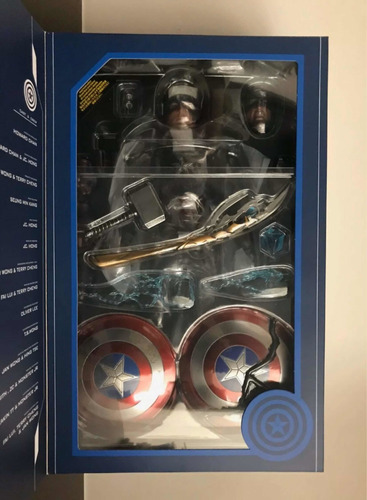 hot toys capitán america endgame d23 expo mms526 nuevo fpx