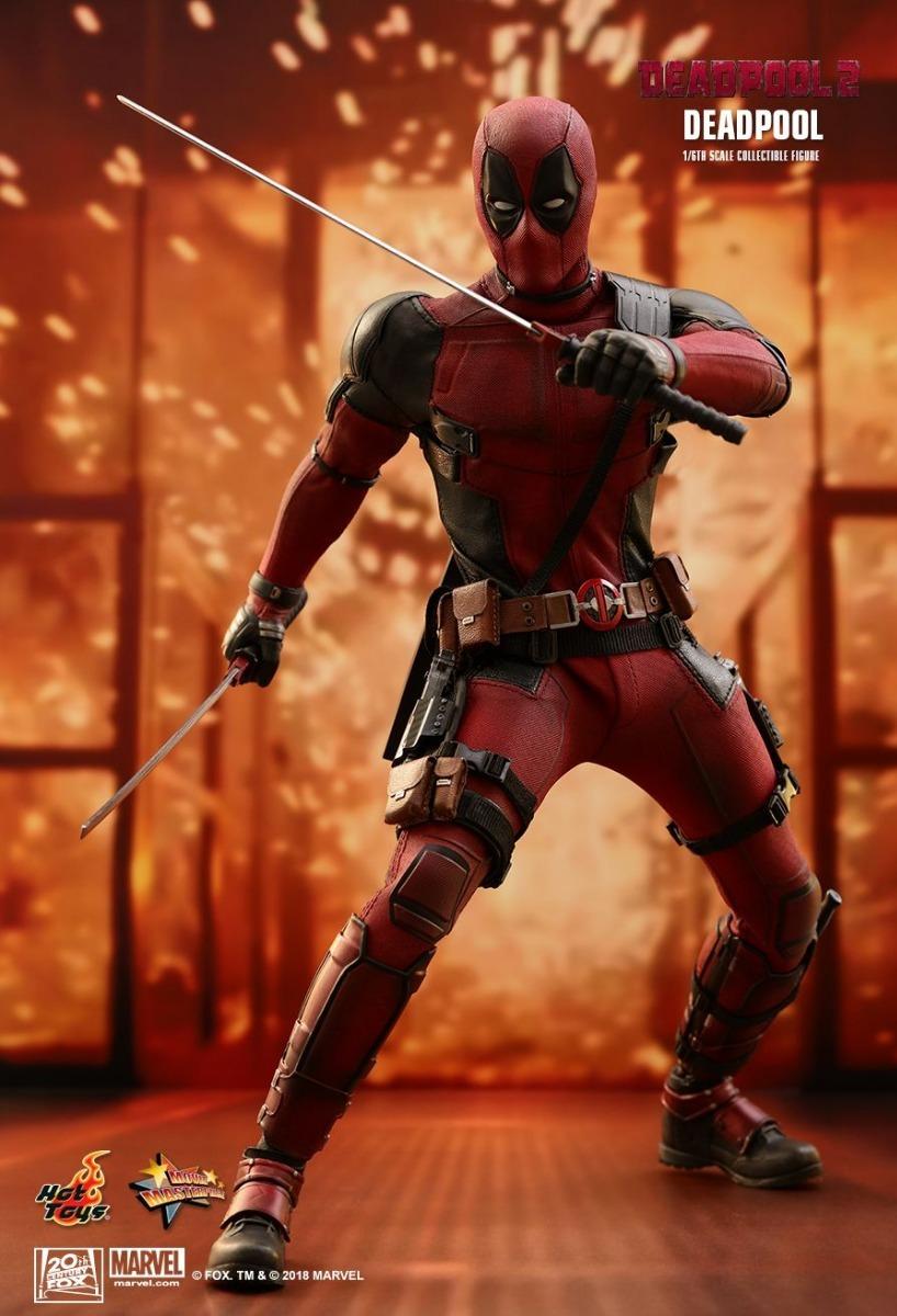 Hot Toys MMS490 Deadpool 2 Deadpool Figure 1//6 Scale Unicorn Doll