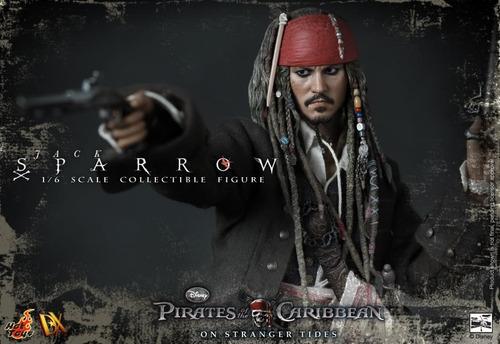 hot toys dx 06 jack sparrow exclusive pirates caribbean