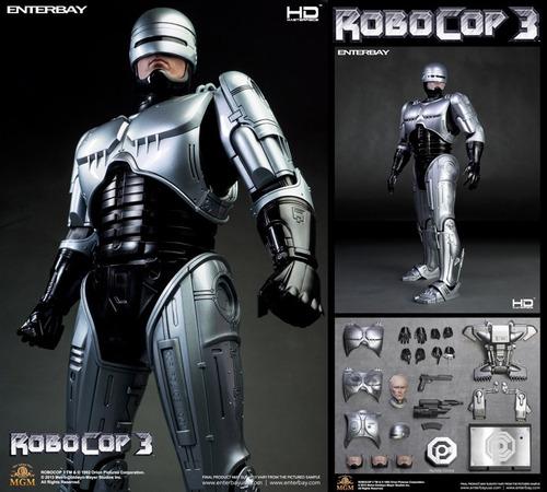 hot toys - enterbay robocop 3 1/4