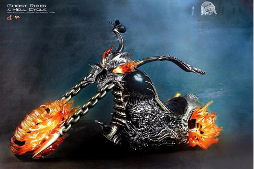 hot toys ghost rider motoqueiro fantasma hellcycle só a moto
