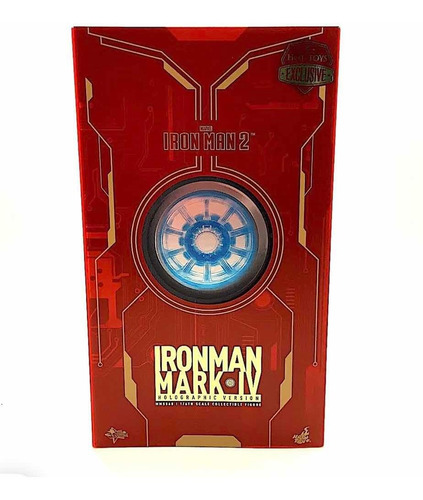 hot toys iron man holographic version mk iv mms 568 fpx