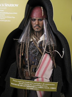 hot toys jack sparrow dx06 piratas do caribe johnny depp 1/6