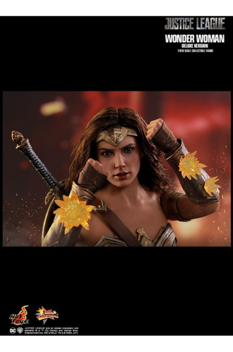 hot toys justice league wonder woman deluxe mms451 americano