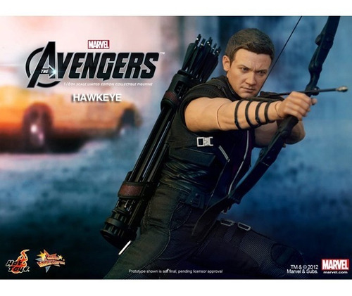 hot toys marvel avengers hawkeye jeremy renner vingadores