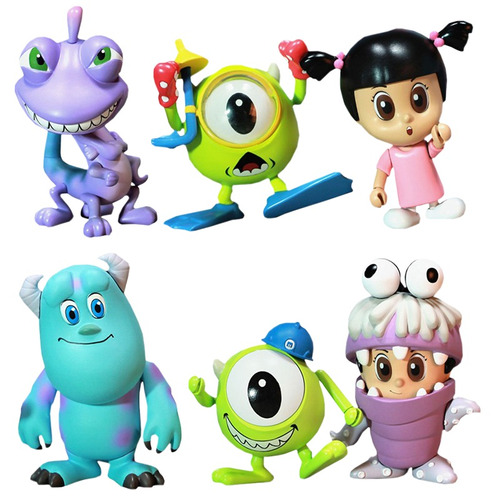 hot toys  - monsters inc cosbaby set - frete grátis