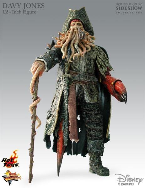 Hot Toys Piratas Del Caribe El Fin Del Mundo Davy Jones 1 6