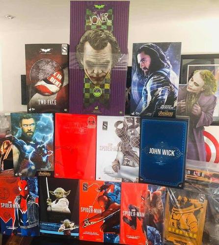 hot toys spiderman advanced spider nuevo fpx envío gratis