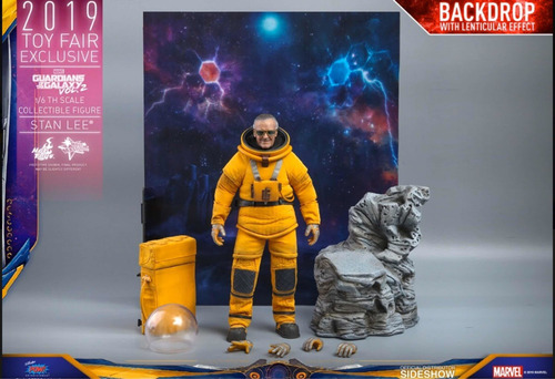 hot toys stan lee guardians of the galaxy vol. 2 nuevo fpx