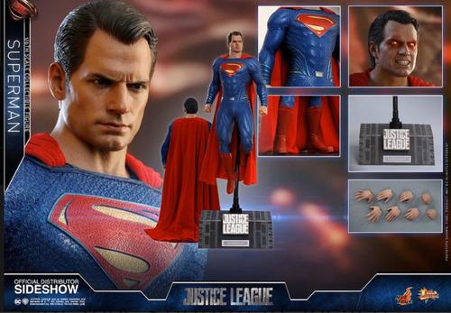 hot toys superman justice league nuevo en mano fpx