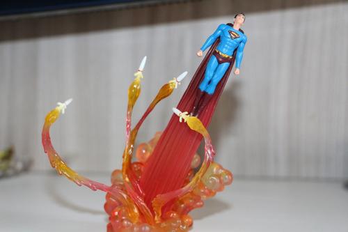 hot toys superman returns dc snap kit diorama frete grátis