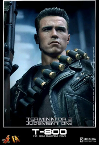 hot toys terminator 2 t-800 judgment day dx 10
