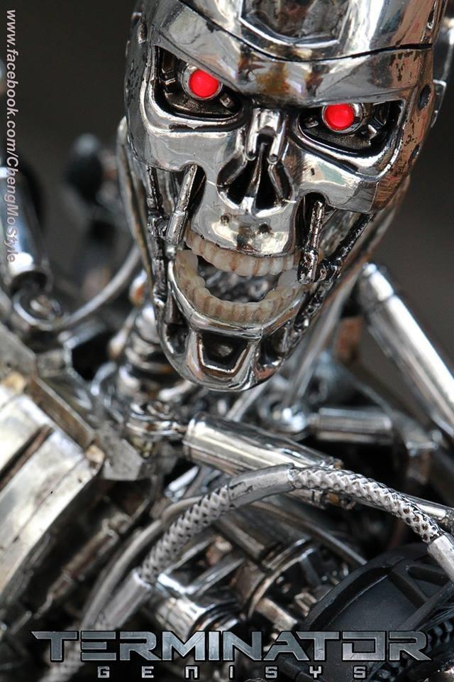 Hot Toys Terminator Genisys Endoskeleton 1/6 - R$ 1.699,00 ...