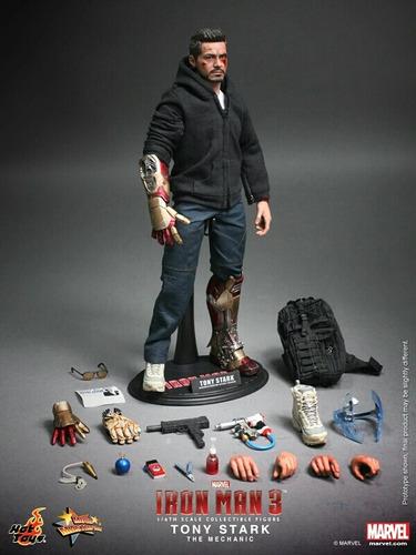 hot toys tony stark the mechanic