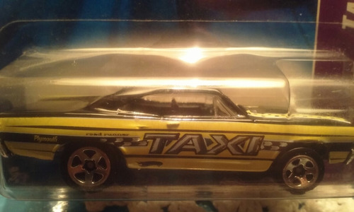 hot weels. 70 plymouth road runner taxi