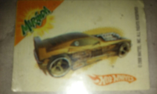 hot weels stikers publicidad de mirinda mattel unico 2006