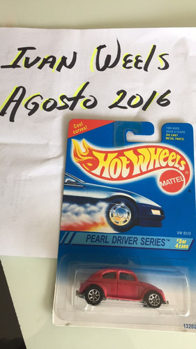 hot wheel bocho rosa vw