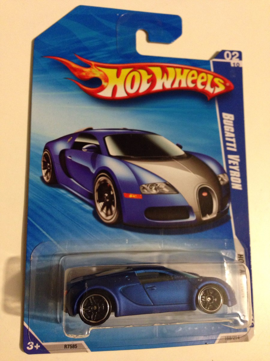 Wheel Hot Veyron ImpecableDe Bugatti Mattel 9Y2eHIbWED