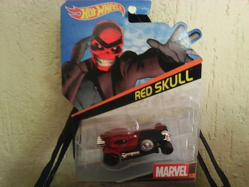 hot wheel red skull