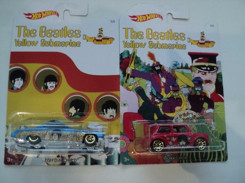 hot wheel the beetles yellow submarine serie completa
