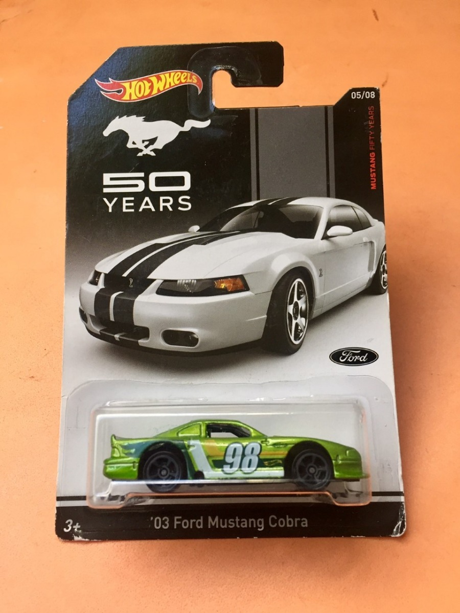 HOT WHEELS MUSTANG FIFTY YEARS /'03 FORD MUSTANG COBRA