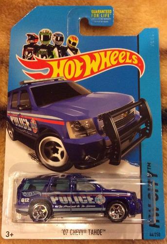 hot wheels ´07 chevy tahoe 44/250 hw city