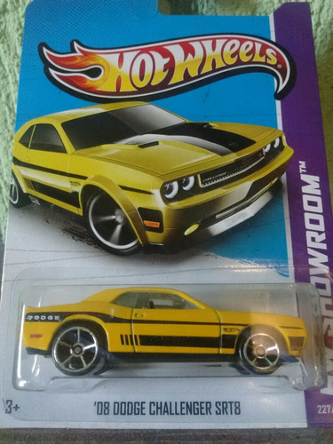 hot wheels 08 dodge challenger srt8