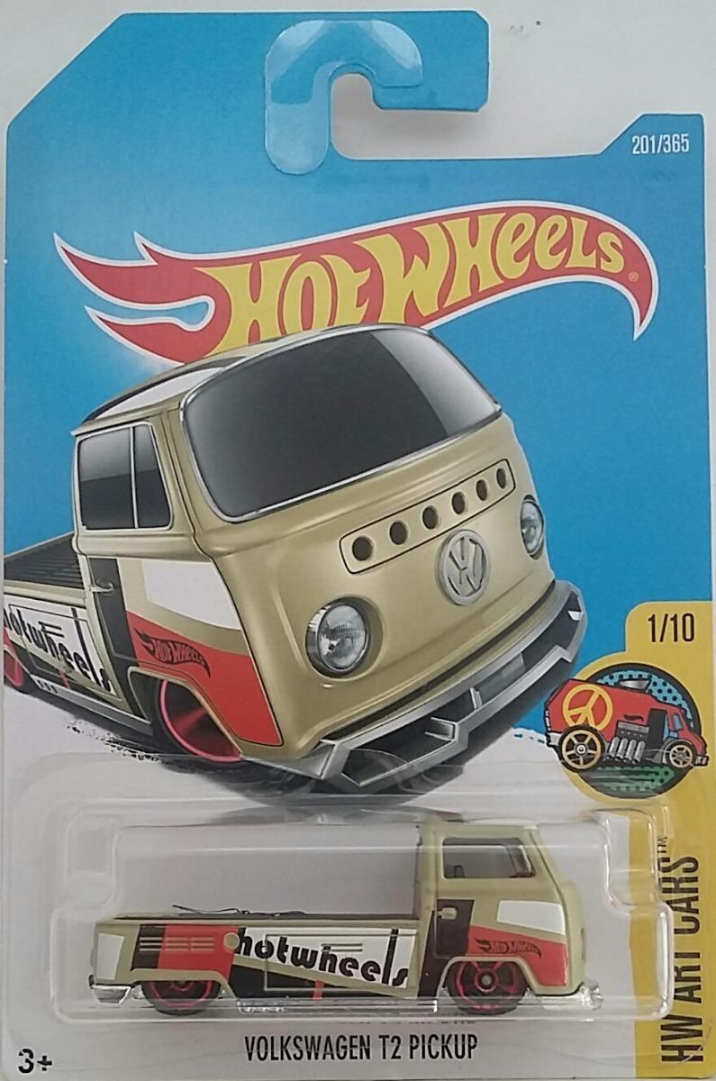 HOT WHEELS 2017 VOLKSWAGEN t2 pickup HW tipo CARS 1//10 dtx02