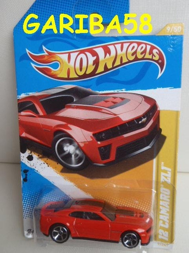 hot wheels 12 camaro zl1 2012 premiere r$25 no lote gariba58