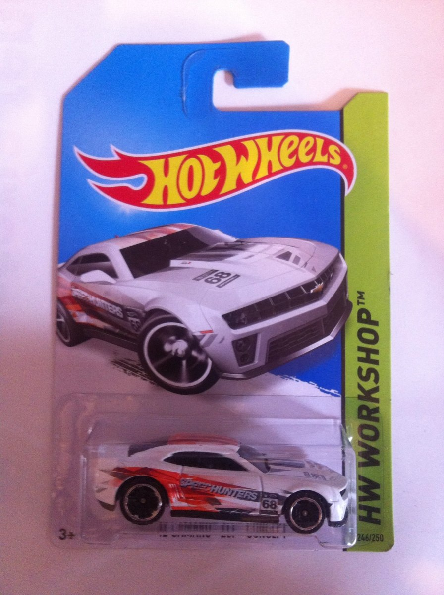Hot Wheels 12 Camaro Zl1 Concept Carro De Juguete 65 00 En