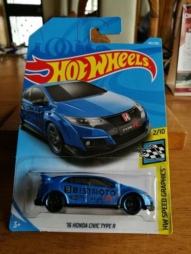 hot wheels 16' honda civic type r