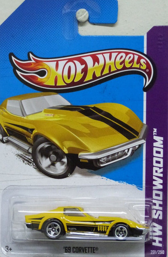hot wheels 1:64 - '69 corvette, 2013