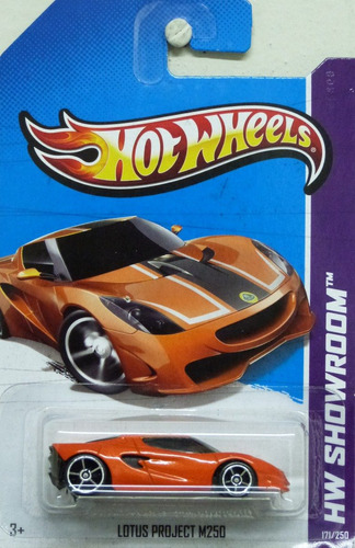 hot wheels 1:64 - lotus project m250, 2013