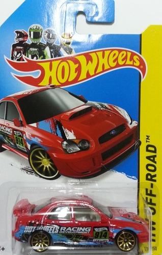 hot wheels 1:64 - subaru impreza wrx, 2014
