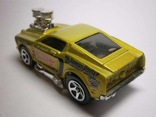 hot wheels 1968 mustang tooned
