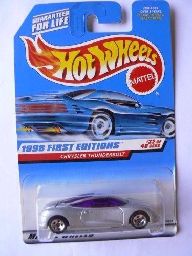 hot wheels 1998 primeras ediciones 32 de 40 chrysler thunder