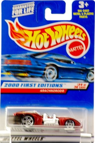 #094 Mattel 24398 RED W// PR RIMS Col Hot Wheels 2000 FIRST EDITIONS 34//36 ARACHNOROD