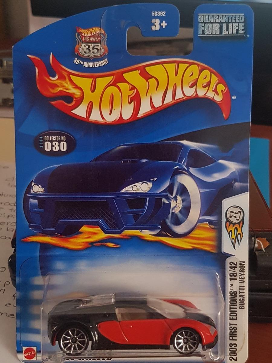 Hot Wheels 2003 First Editions Bugatti Veyron - $ 850.00 en Mercado Libre