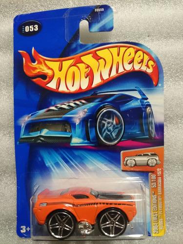 hot wheels 2004 blings plymouth barracuda 1972 envío gratis