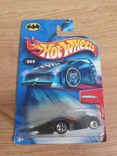 hot wheels 2004  first edition 69/100 crooze batmobile