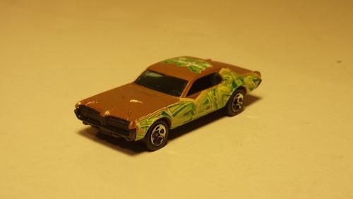 hot wheels 2004: mercury cougar 1968