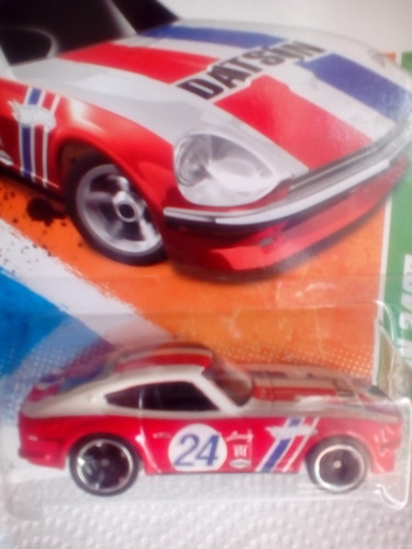 hot wheels 2011 t hunt datsun 240z (caballito)
