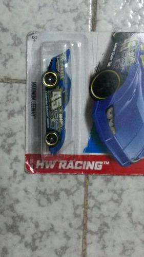 hot wheels 2013  #125 maximum leeway (blue)  hw racing