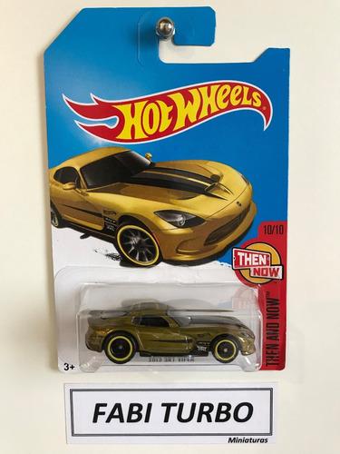 hot wheels 2013 srt dodge viper - superized 2017