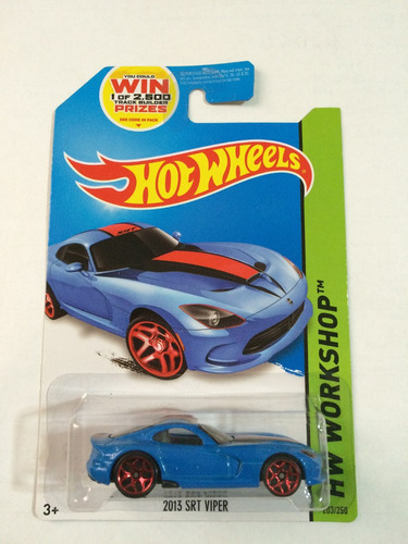 hot wheels - 2013 srt viper - 203/250 -  2014